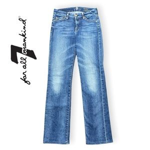 7 For All Mankind Jeans Kimmie Straight Leg